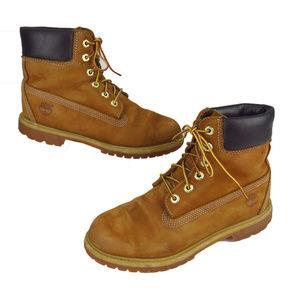 "Timberland Premium 6"" Rust Waterproof Nubuck Boots"
